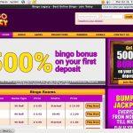 Bingo Legacy Paypal Deposit