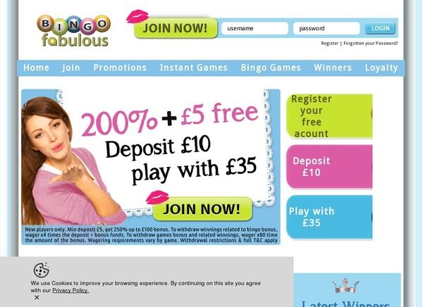 Bingofabulous Slot Games