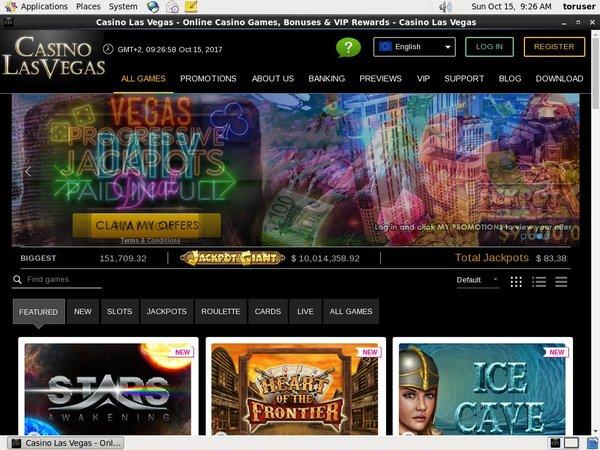 Casinolasvegas Online Casino App