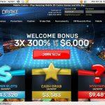 Drake Casino Sign Up Bonus