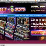 Gossip Slots Promotions Deal