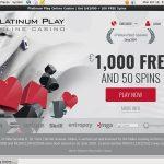 Platinum Play Blackjack
