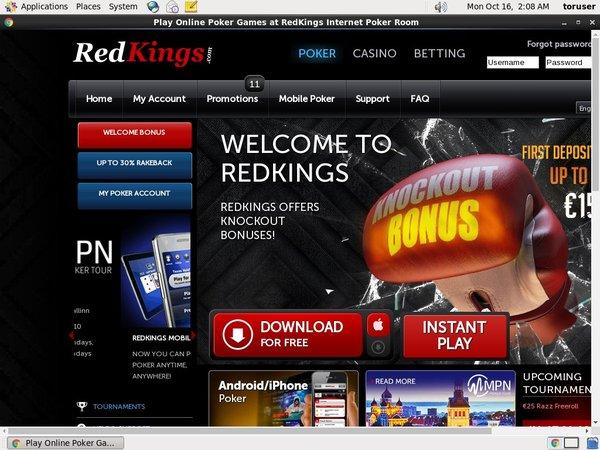 Red Kings Poker Scratch
