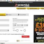 Secretslots New Account