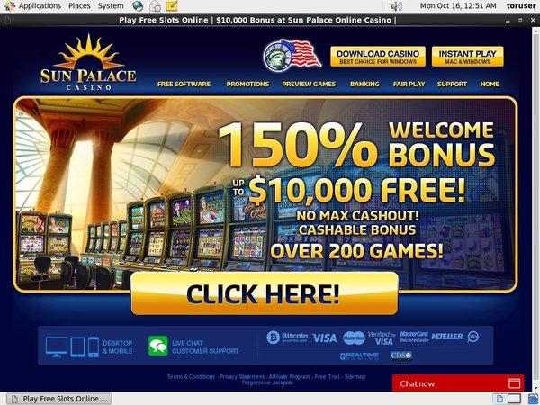 Bingo Sun Palace Casino