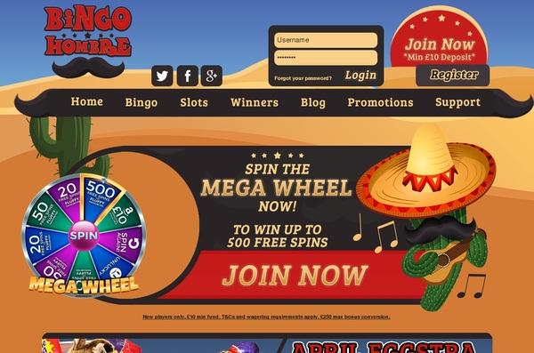 Bingo Hombre Best Slots