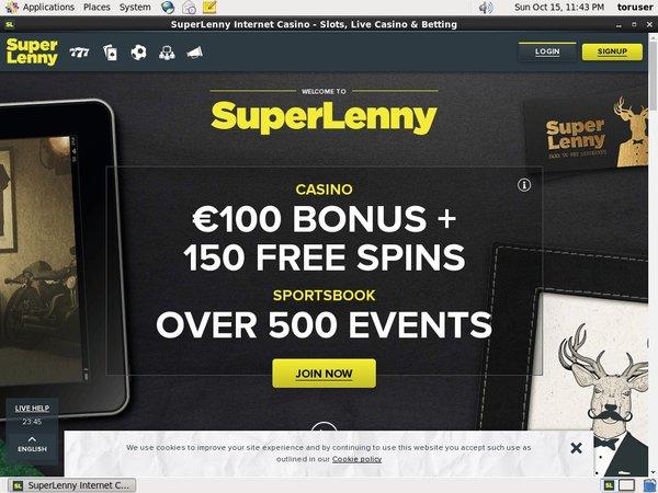 Deposit Super Lenny