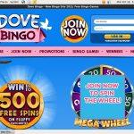 Dove Bingo Welcome Bonus
