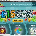 Lucky Socks Bingo Bonus Bet