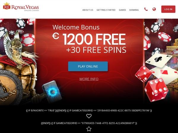 Royal Vegas Casino Bet Free