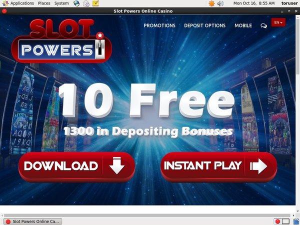 Slotpowers Add Money