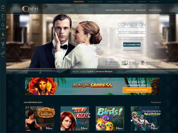 Cheri Casino Lottery