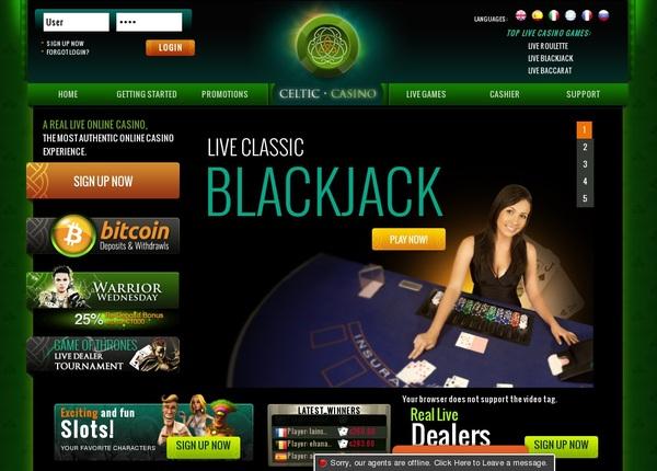 Celtic Casino Mit Paypal