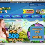 Get Luckytouchbingo Free Bet