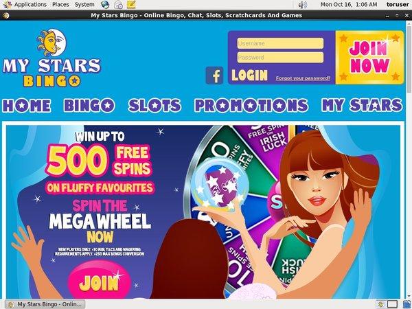 Bonus Bet My Stars Bingo