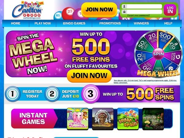 Carlton Bingo Mobil Casino