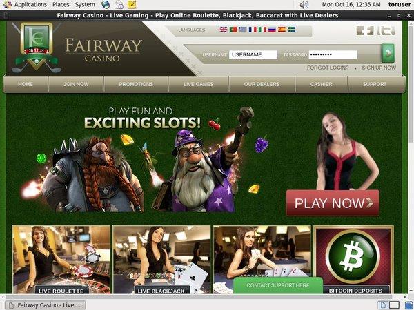 Fairway Casino Online Casino Bonus