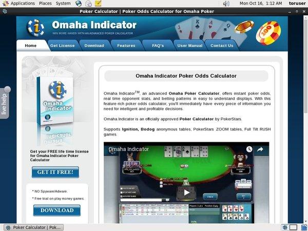 Omaha Indicator Casino Bonus Codes