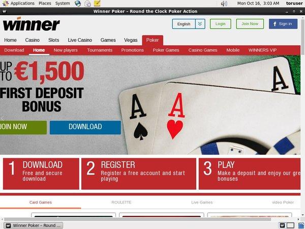 Winner.com 插槽红利