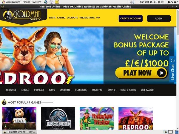 Goldman Casino Paypal Casino