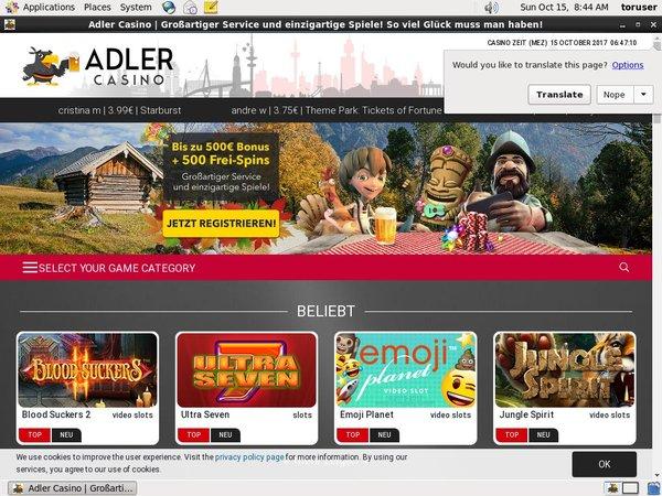 Adler Casino Texas Hold Em