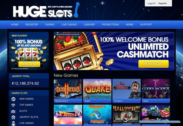 Huge Slots Bonus