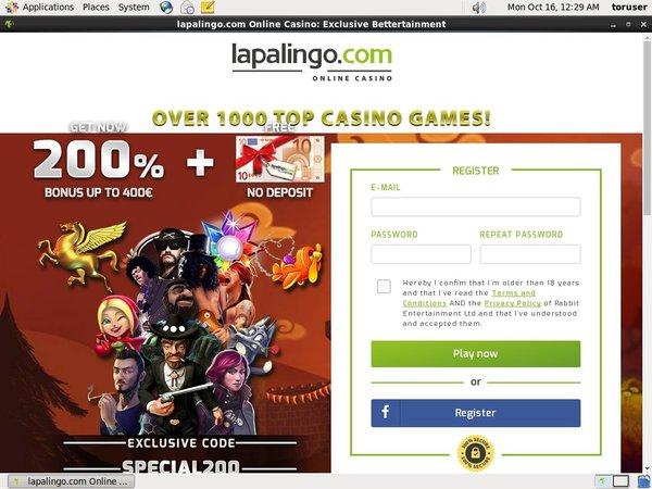 Rewards Lapalingo