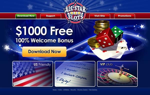 All Star Slots Bonus Promotions