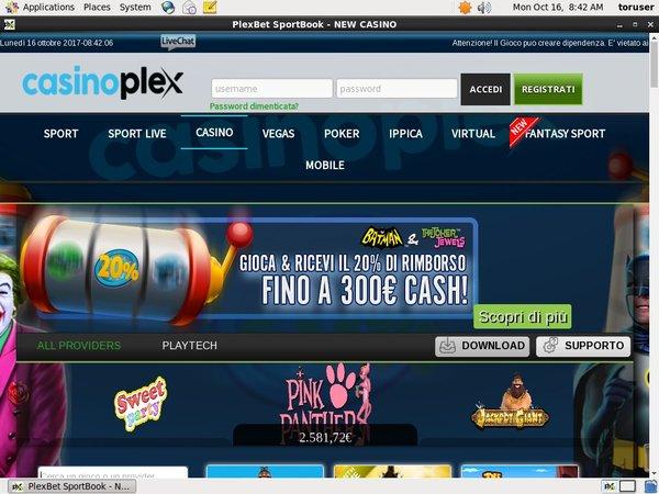 CasinoPlex Spilleautomater
