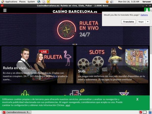Casinobarcelona Signup Bonus