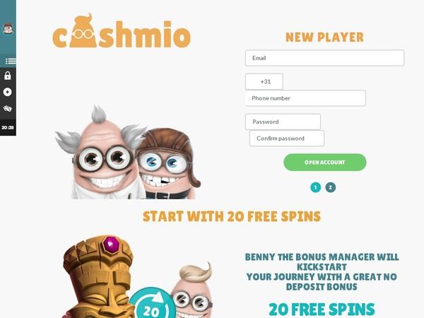 Join Cashmio Promotion