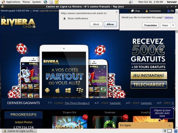 Riviera Casino Wirecard