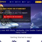Spin Prive Casino Freispiele