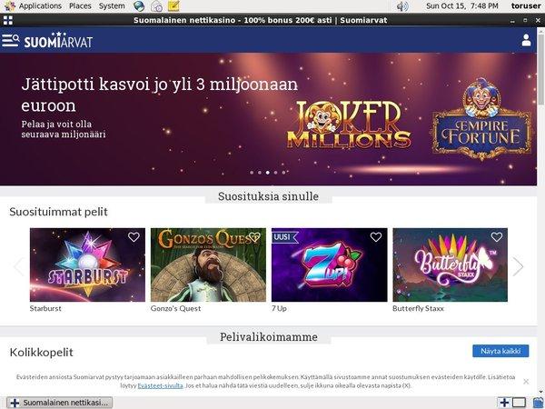 Suomiarvat Registration
