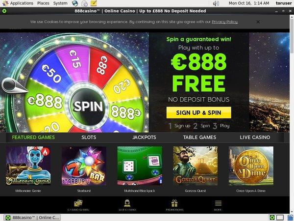 888 Casino Bonus Code 2016