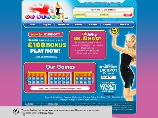 How To Use UK-Bingo